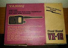Yaesu VX-1R VHF/UHF