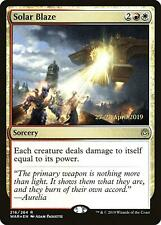 MTG Magic - (R) War of the Spark - Solar Blaze Prerelease FOIL
