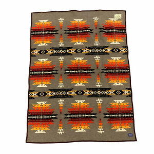 Vintage Pendleton Blanket Fort McDowell Casino Western Aztec Acrylic Made USA