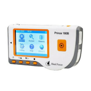 Heal Force Portable 180B Handheld ECG EKG Home Heart Rate Monitor+Software CD CE