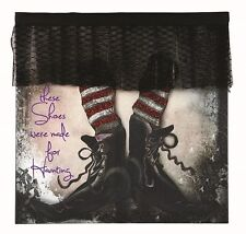 X47144 If The Shoe Fits Witches Canvas Painting Picture Art  Pumpkin Halloween