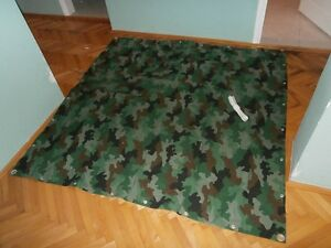 Federal Yugoslav Army (1992-2006) camouflage tent flap - new