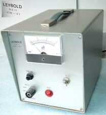 Leybold Heraeus niz 1.1 b52 alta tensión de alimentación High Voltage Power Supply Univ