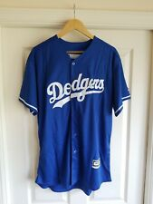 Jackie Robinson Majestic Cooperstown Collection Jersey LA Dodgers Blue 2XL