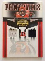 2006 Donruss Gridiron Gear Rudi Johnson Dual Jersey Card /50 Cincinnati Bengals