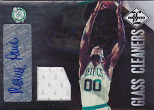 2012-13 Limited Glass Cleaners Jersey Signatures #23 Robert Parish Auto #/49