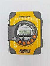 Panasonic RQ-SW10 AM/FM Stereo Cassette Shockwave Portable XBS Player