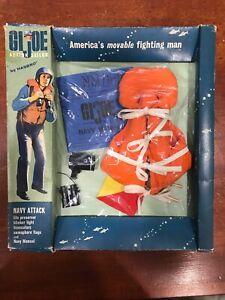 1 G I Joe 1965 Vintage Footlocker Color Insert Hasbro REPODUCTION PHOTO COPY