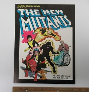 (1982) THE NEW MUTANTS Marvel Comics Graphic Novel #4 TPB Claremont McLeod y5856