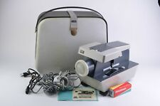 EXC++ ROLLEI P11 35mm & MEDIUM FORMAT SLIDE PROJECTOR, CASE, REMOTE, TESTED!
