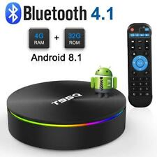 T95Q 4GB 32GB Smart Android 8.1 TV Box Amlogic S905X2 Quad Core 64Bit Dual WIFI