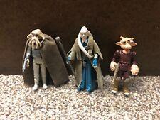 Original Star Wars ROTJ Figures Squid Head and Ree-Yees Kenner 1983