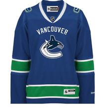 Jersey Vancouver original Canucks Blue  Women's Premier NHL Reebok size M