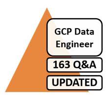 Updated Google Cloud Certified Professional Data Engineer GCP Exam 163 Q&A PDF