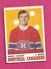 1970-71 OPC # 179 CANADIENS MARC TARDIF ROOKIE EX+  CARD (INV# D2823)