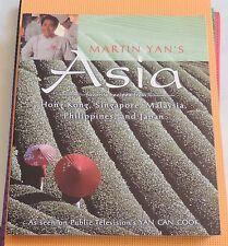 MARTIN YAN COOKBOOK ASIA Hong Kong Singapore Malaysia Japan Phillipines
