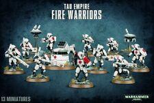 Squadra di Guerrieri del Fuoco Tau - Fire Warrior WARHAMMER 40K 40000 Citadel GW