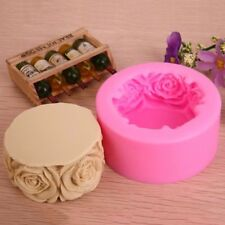 Rose Flowers Silicone Forms For Handmade Soap DIY Crafts Mould Candle Molds