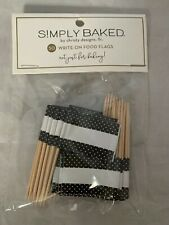 Simply Baked Push Pin Map Pennant Flags Write On 50 Pins Black White Designer