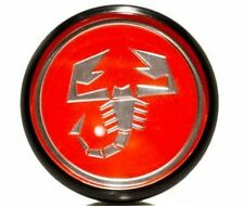 Genuine Abarth 17 inch 50mm Scorpion Center Cap - 2012+ Fiat 500, Abarth & 500T