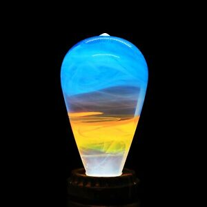 EP LIGHT LED Bulb Warm Bedside Night Lamp Unique Gift - Fire
