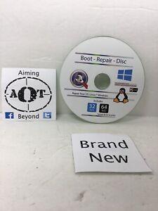 LINUX BOOT REPAIR DISK LIVE RESCUE DVD 2020 + FIX WINDOWS / MAC / LINUX HARDRIVE