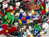 Mickey Mouse Themed 10 Pin Set Walt Disney World Parks Trading Pins ~ Brand NEW