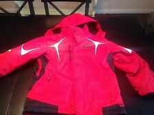 KARBON Youth Young Men's Snowboard/Ski Coat - Red, Black, White - Size 14