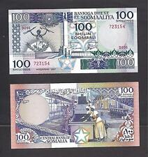 Somalia p-35b, Unc, 100 Scellini Shillings, 1987