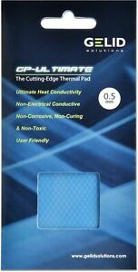 Gelid Solutions GP Ultimate 0.5mm Thick Thermal Pad (90 x 50 x 0.5 mm) W/mK 15