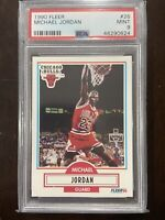 1990 - 1991 Fleer Michael Jordan Chicago Bulls #26 Basketball Card PSA 9 GOAT!!!