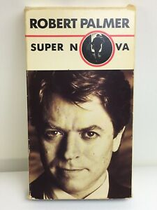 Robert Palmer Super Nova Vhs Music Video Tape