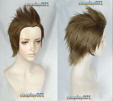 Final Fantasy XV FF15 Ignis Stupeo Scientia Cosplay wig + Wig Cap + Track No.
