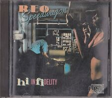 REO Speedwagon Hi Infidelity Japan CD 1984 35・8P-4 Very Rare