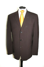 HUGO BOSS Herren Luxus Anzug Größe 48 dunkelbraun TOP (R3/424)