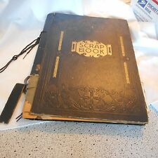 Vintage Religious Post Card black Album AS IS over 200 Cards Church (Aei