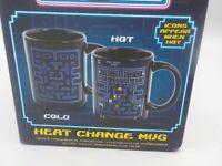 Magic Heat Changing PAC MAN Mug Changes Color When Hot.