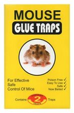 Mouse Glue Traps 2pcs. safe and easy way to fight with rats very effective