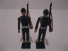 Aohna Miniature Soldier Figure Lot of 2 Sentry Riflemen Made in Greece