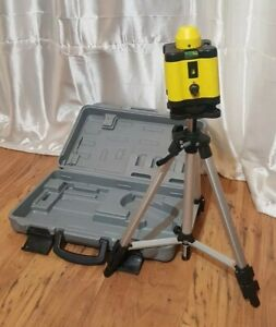 Laser Level with tripod in case.