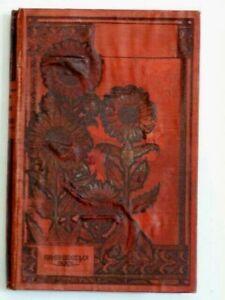 "Antique 1889 French book  ""Une Famille Polytechniciens"" ephemera junk journal"