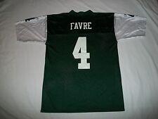 Brett Favre # 4 N.Y. Jets Reebok NFL Team Apparel Football Jersey - Size Large