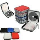 40 Disc CD DVD VCD Wallet Storage Organizer Case Holder Album Bag Hard Box BLACK