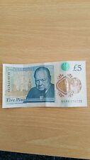 AK48 5 pound note very RARE AK48 075723