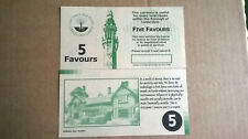 More details for 5 favour calderdale local currency banknote - uncirculated