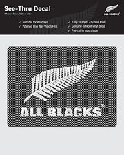 All Blacks iTAG See-Thru Logo Decal Sticker - WHITE