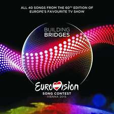 EUROVISION SONG CONTEST - BUILDING BRIDGES - VIENNA 2015 * NEW 2CD'S * NEU *