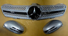 Mercedes Benz CLS Front Grille + LED Mirrors W219 Model 2004 to 2008