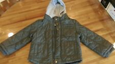 boys hooded quilted jacket age 4-5