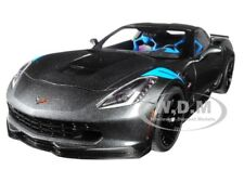 2017 CHEVROLET CORVETTE C7 GRAND SPORT GREY 1/18 MODEL CAR BY AUTOART 71272